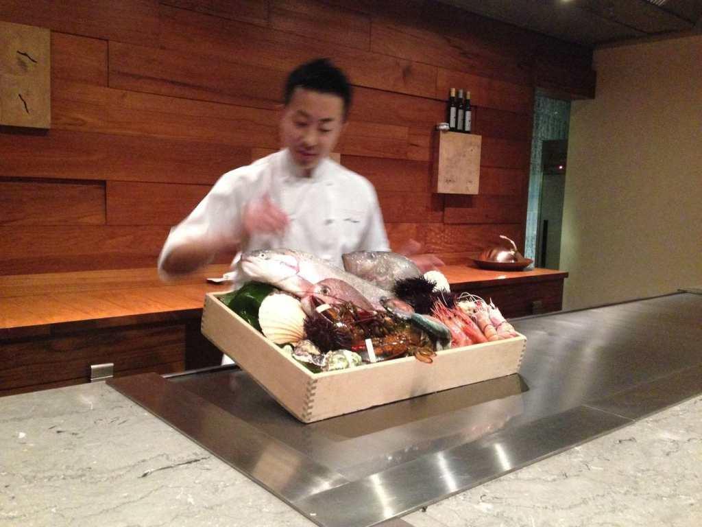 Waku Ghin chef
