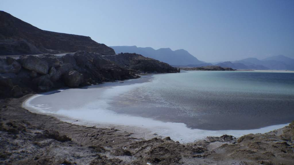View of Lake Assal