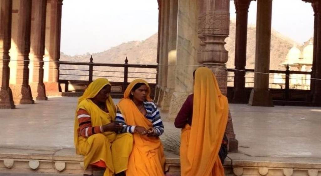 Ladies at Jodhpur Fort