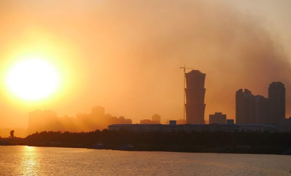 Pollution in Pyongyang