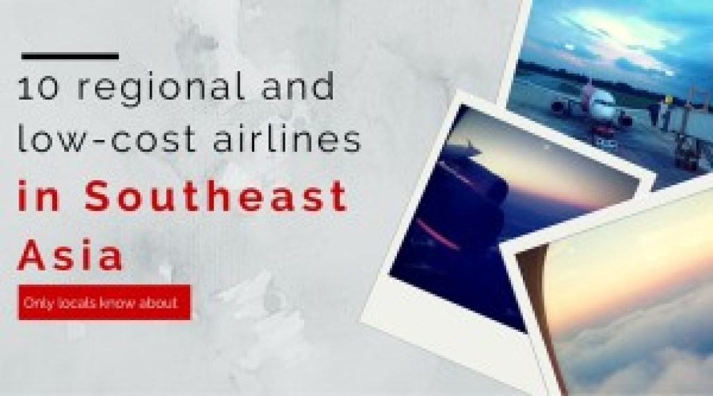 How I travel Low-cost airlines in asia