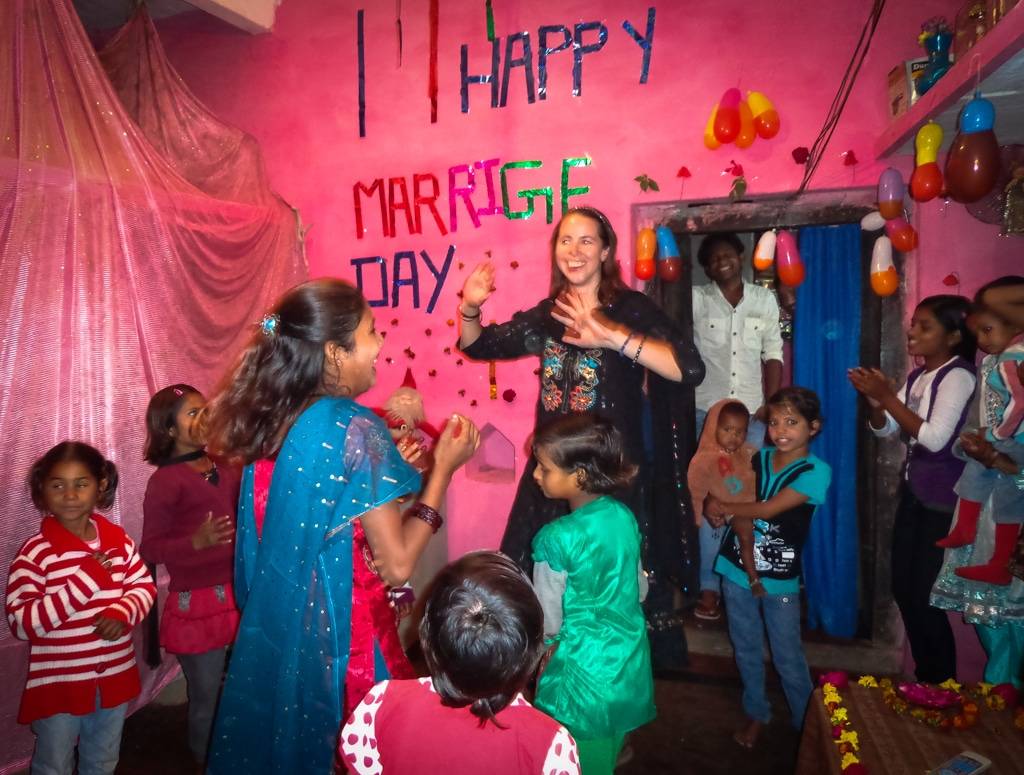 Anna Phipps in India