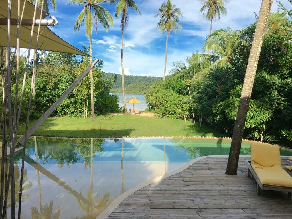 Soneva Kiri beach villa