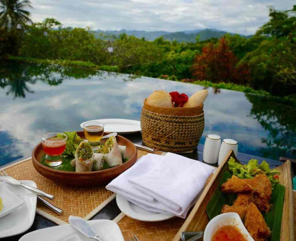 La Residence Phou Vao food