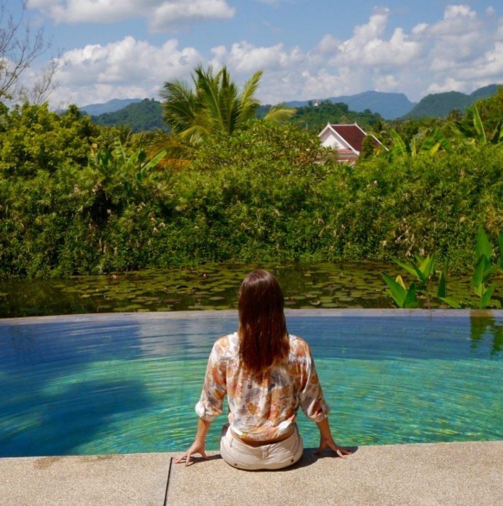 La Residence Phou Vao spa pool