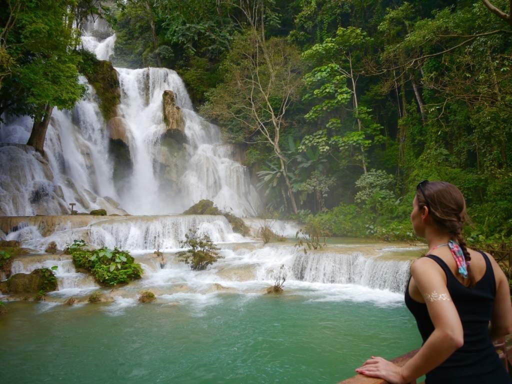 Tat Kuang Si Falls