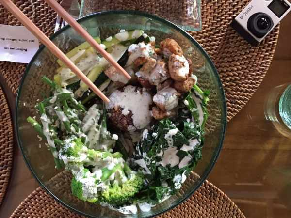 Sage's vegetable salad