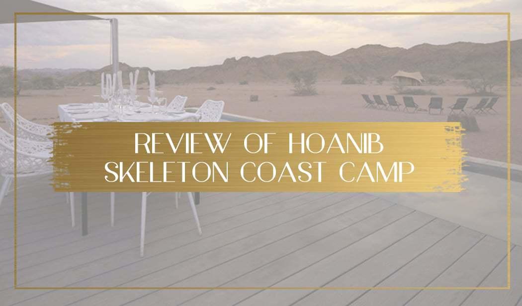 Hoanib Skeleton Coast Camp main
