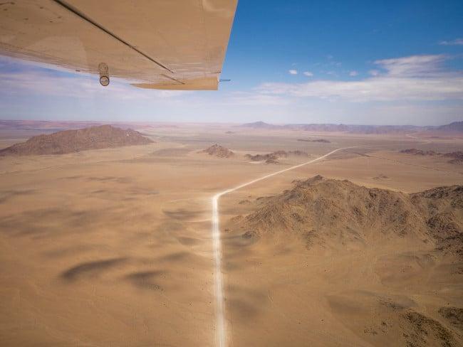 Dirt roads of Nambiai