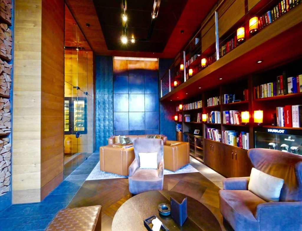 The Chedi Andermatt Library