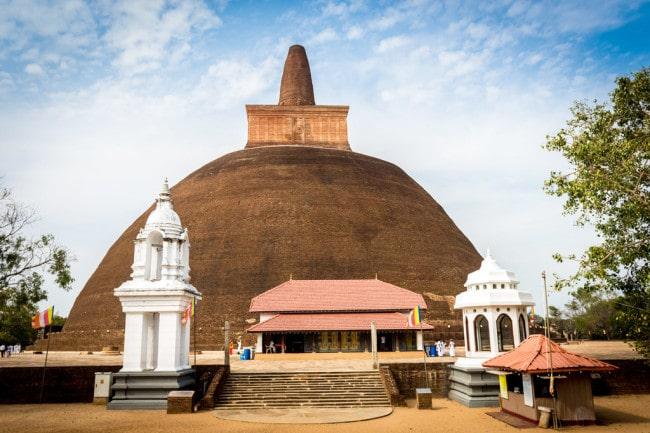 itinerary of Sri Lanka Anuradhapura