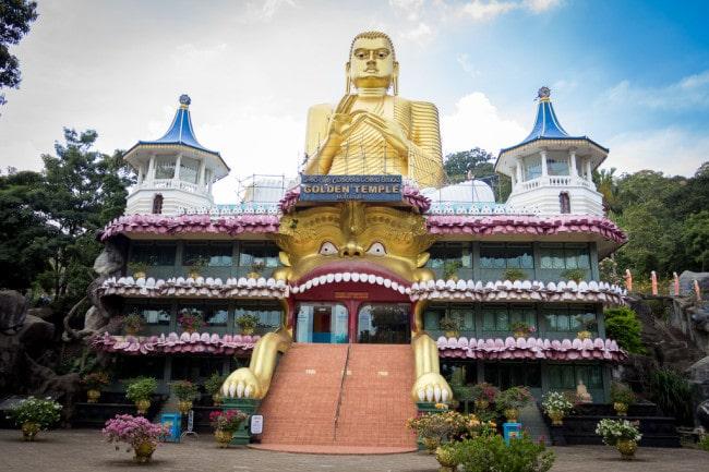 itinerary of Sri Lanka Dambulla Cave Temple