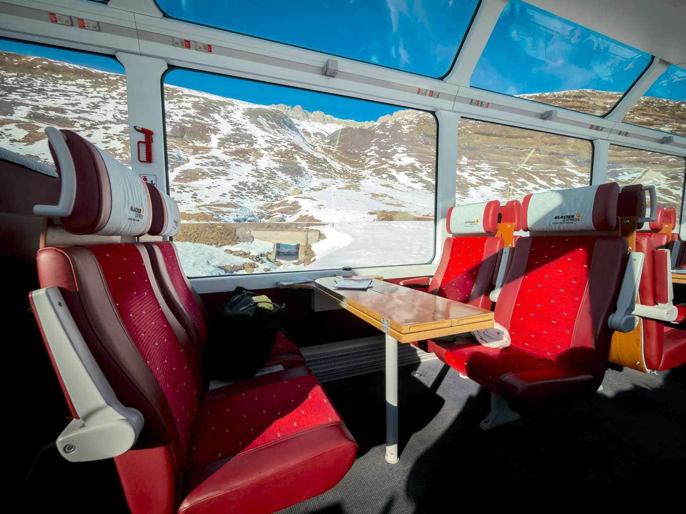 Epic Views on the Glacier Express