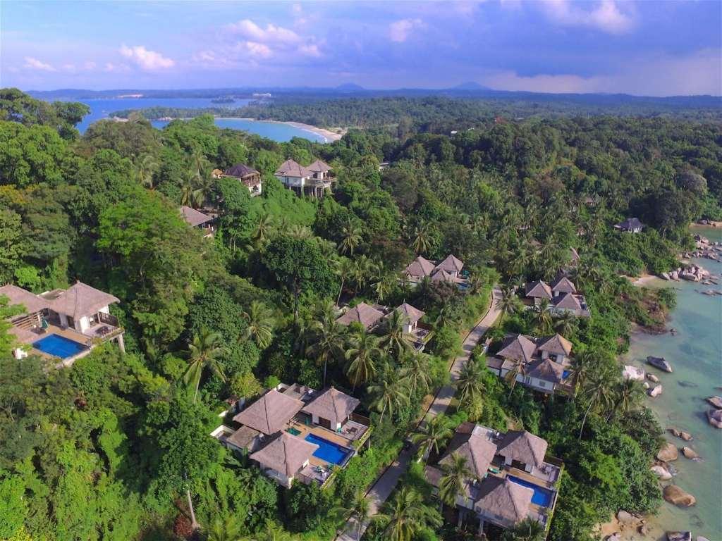 Banyan Tree Bintan aerial shot