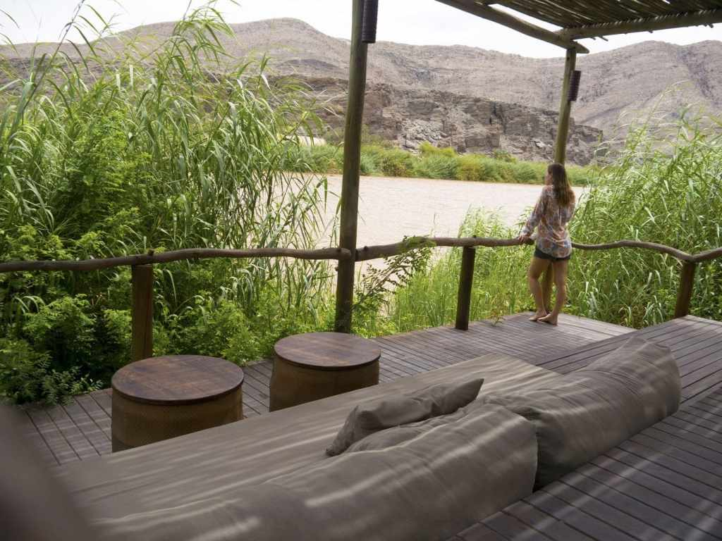 Serra Cafema outdoor verandah