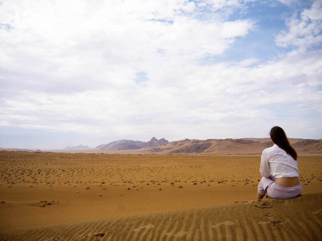 Dunes at Serra Cafema
