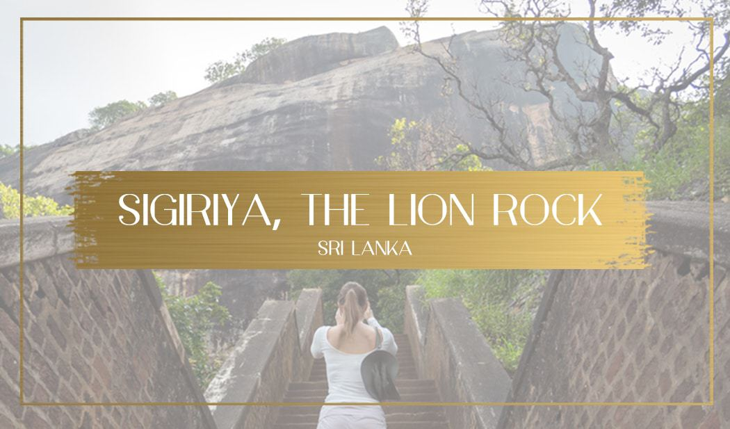 Sigiriya Lion Rock main