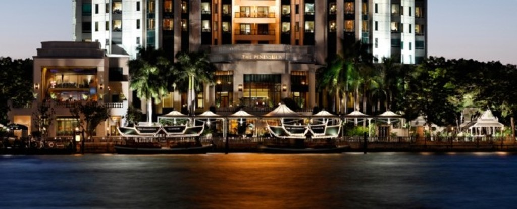 The Peninsula Bangkok  review waterfront