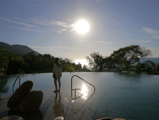 """Hilltop pool Garza Blanca Preserve Resort & Spa"""