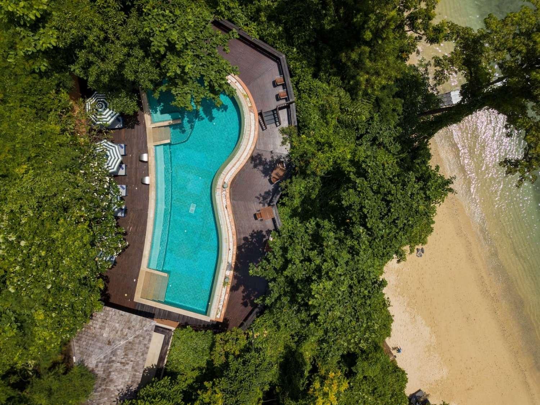 """Beach pool at Sri Panwa"""