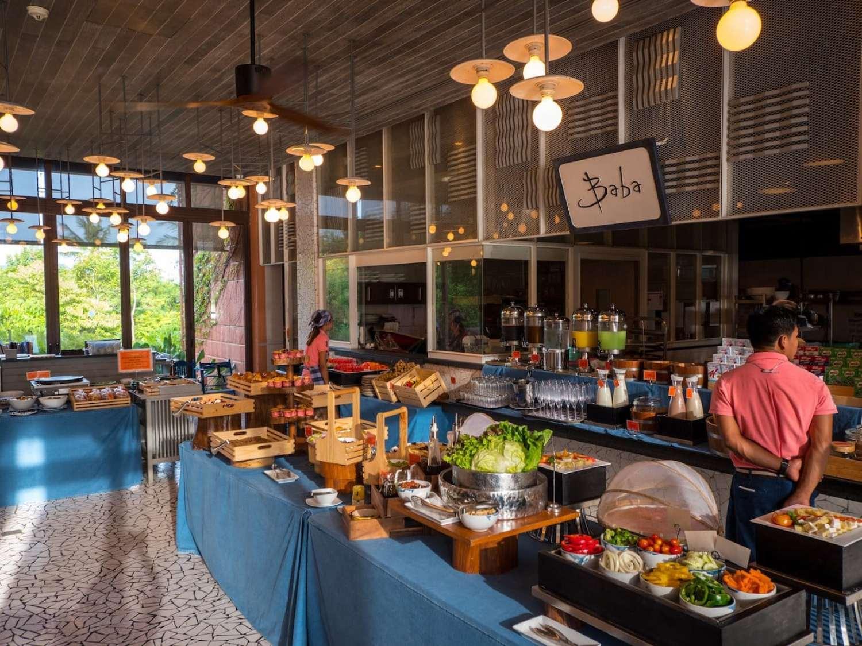 """""""The breakfast spread at Sri Panwa"""""""