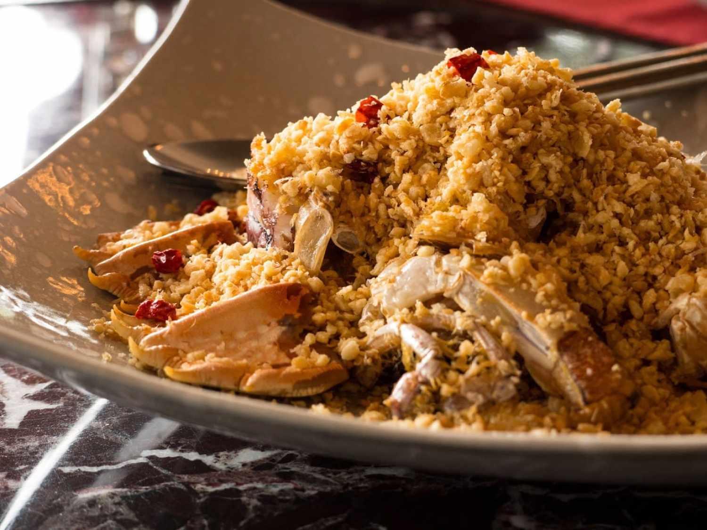 """""""Fiery crab at Baba Chino"""""""