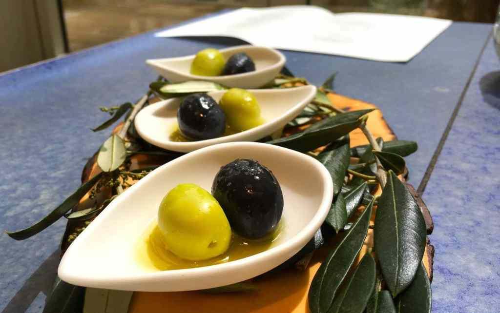 Enjoy the olive