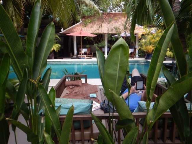 """The lush pool at The Pavilion Hotel Phnom Penh"""