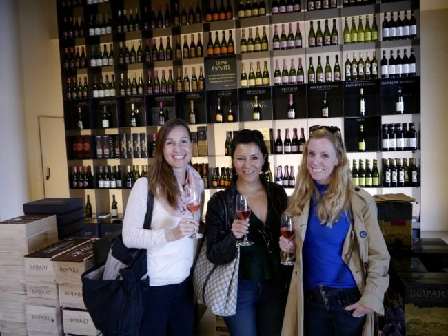 """Cava Llopart Gran Reserva tour cellar"""
