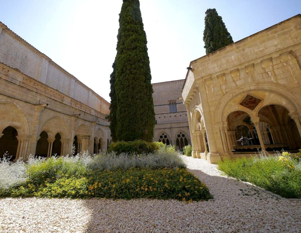 """Poblet Monastery cloister"" day trips from Barcelona"