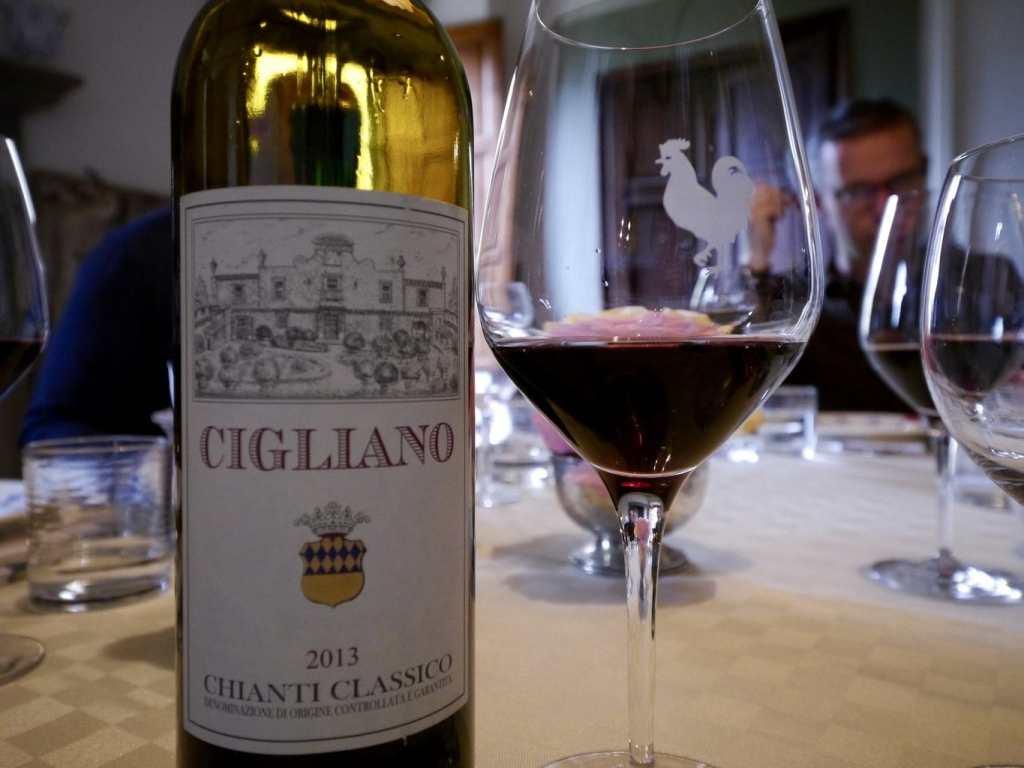 Cigliano Chianti Classico wine
