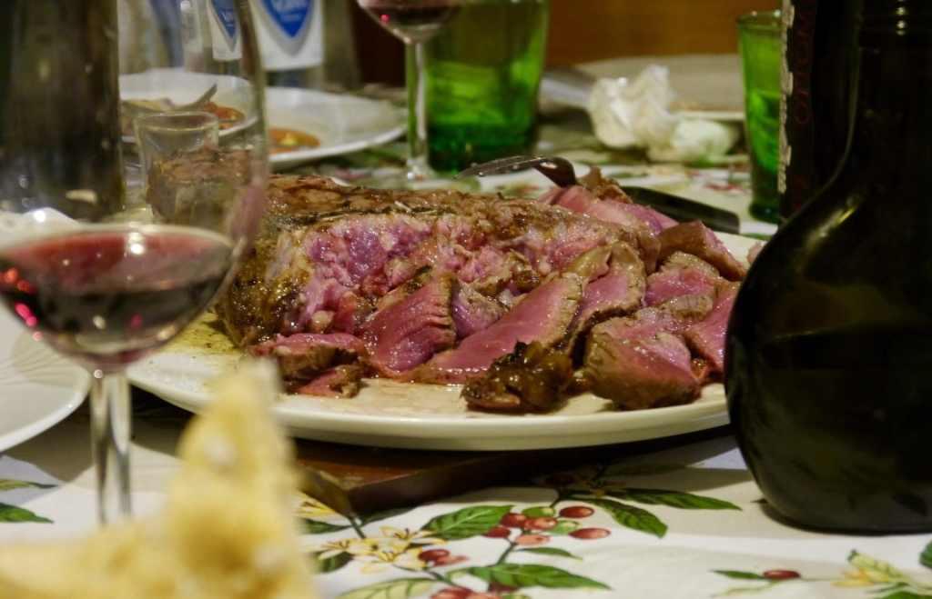 Amazing Florentine steak