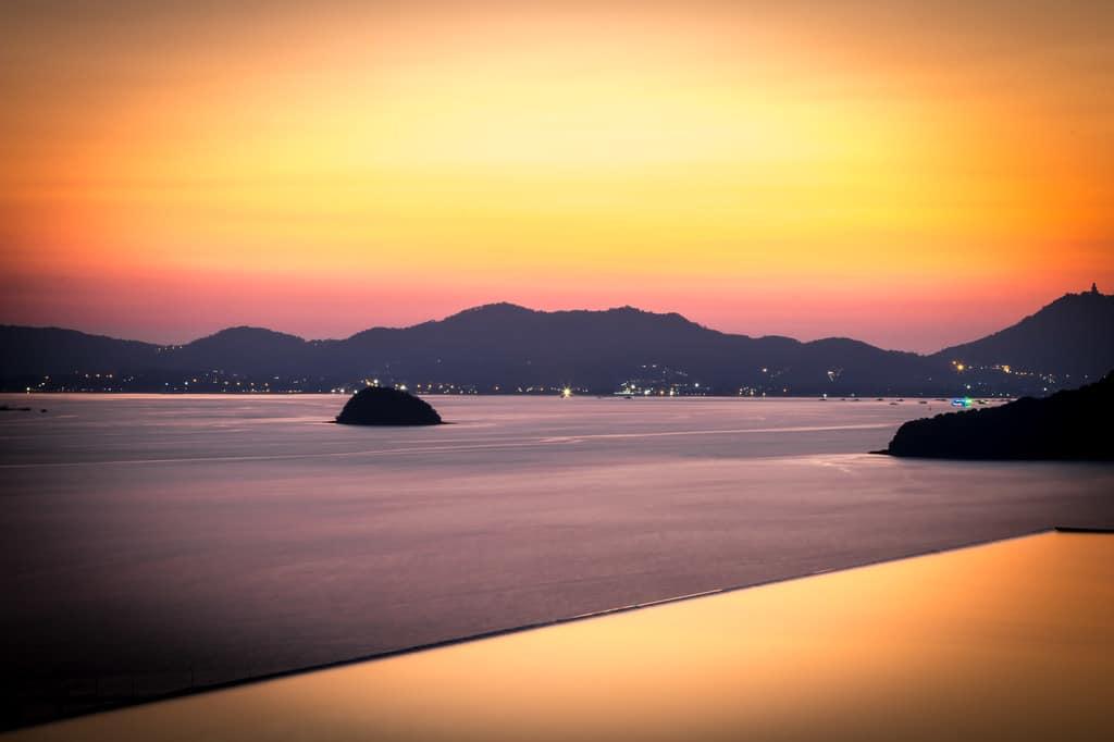 """""""Sri Panwa Baba nest sunset"""""""