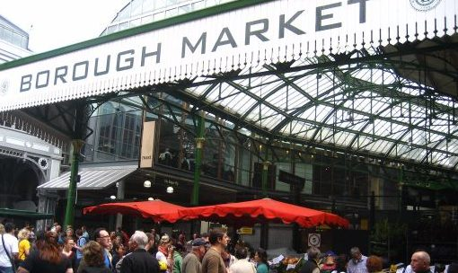 London food market tour