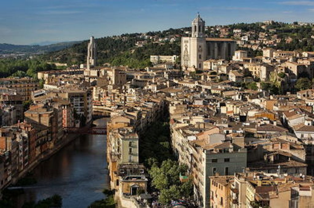 """Girona from above"" day trips from Barcelona"