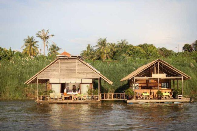"""mekong River Bungalows Phnom Penh"""