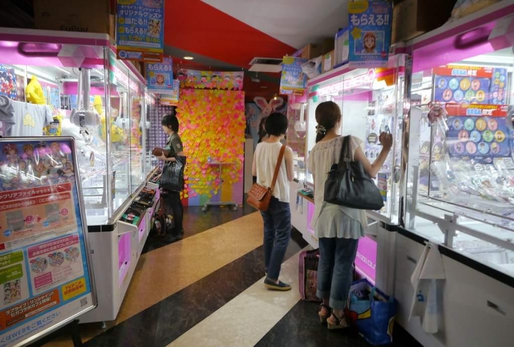 Akihabara vending machines