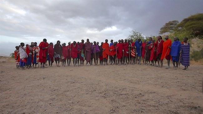 """""""Masai community members Amboseli"""""""