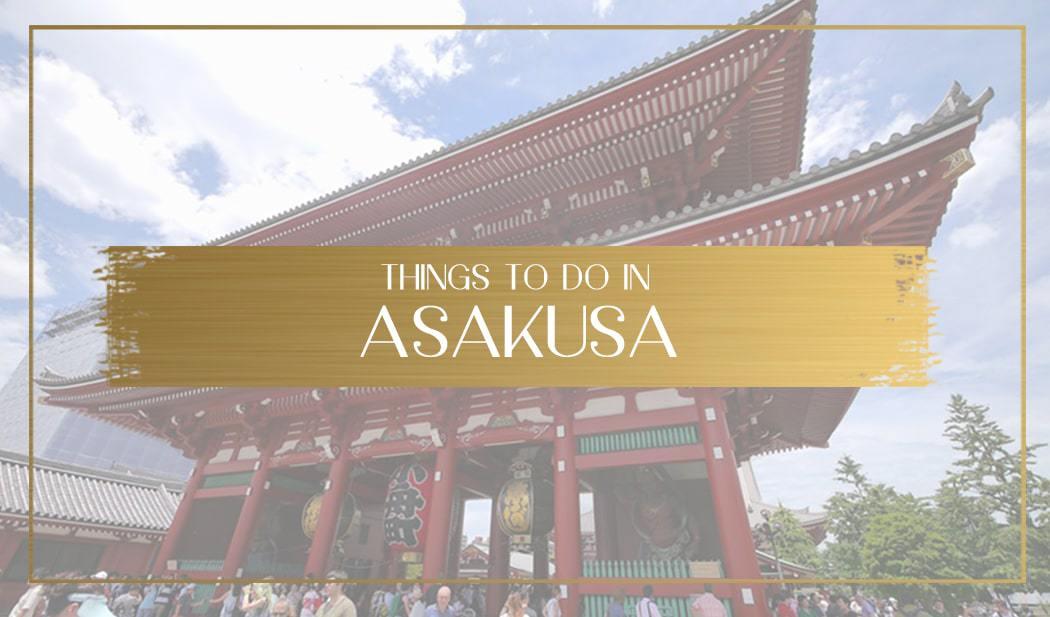 Things to do in Asakusa main