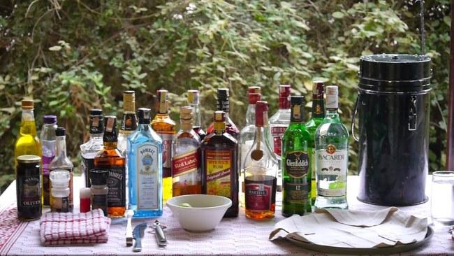 """""""Drinks selection on safari"""""""