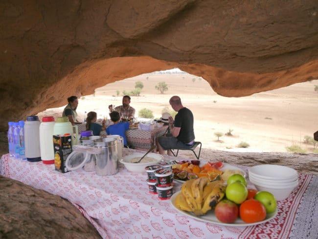 """Picnic breakfast in Amboseli"""