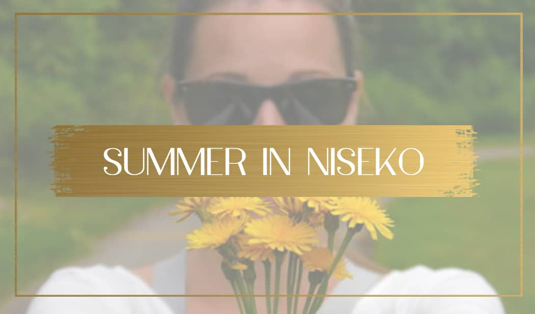 Summer in Niseko main
