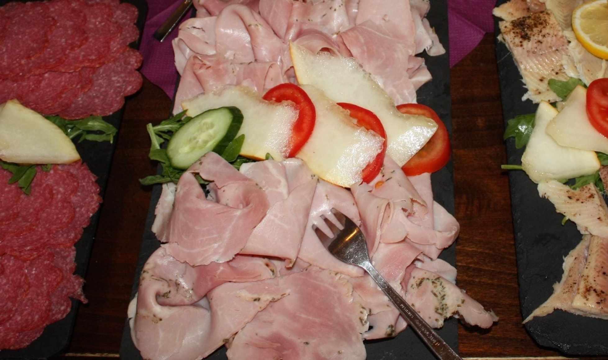 """Spanish cooked ham, jamon dulce o York'"