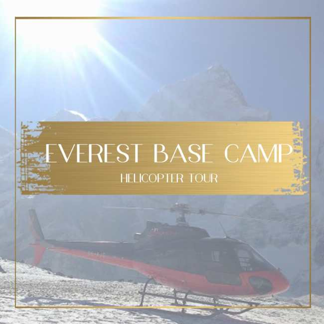 Everest base camp helicopter tour feature
