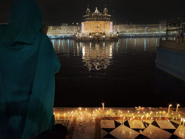 """""""Diwali at The Golden Temple'"""