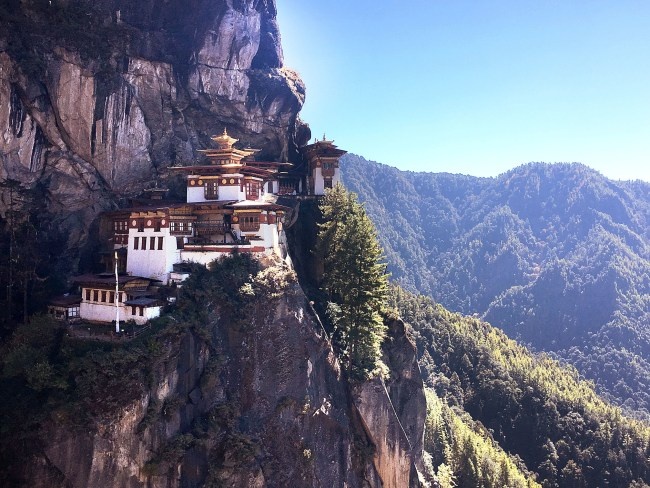 """""""Tiger's Nest from the start of the stairs"""""""