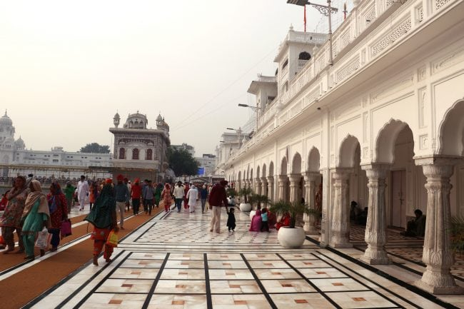 """The Golden Temple Amritsar"""