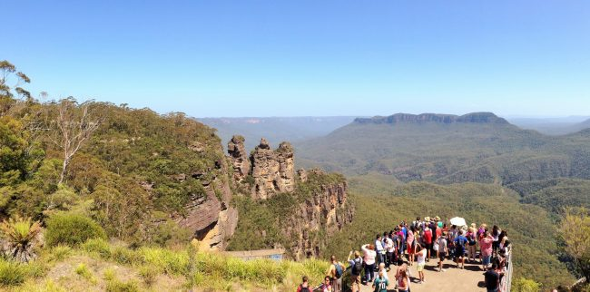 """Blue Mountains Three Sisters"""
