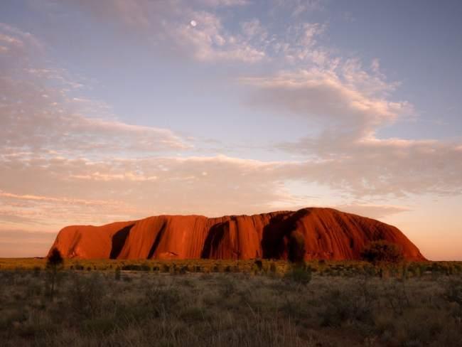 """Sunrise over Uluru Ayers Rock"""