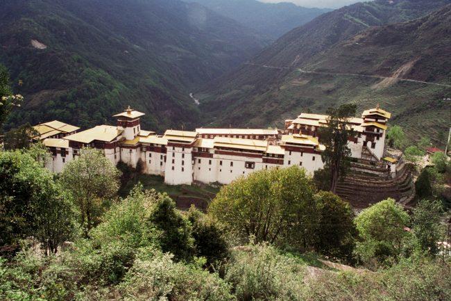 """""""trongsa Dzong"""""""